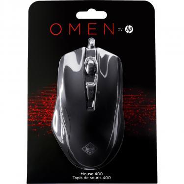 Мышка HP OMEN 400 USB Black Фото 8