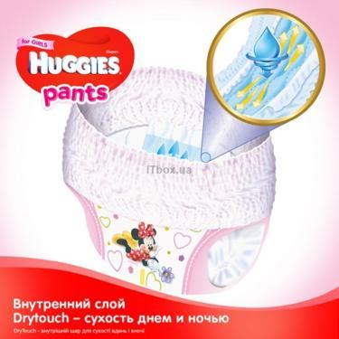 Подгузник Huggies Pants 3 для девочек (6-11кг) 116 шт (58x2) (5029054216408) - фото 3