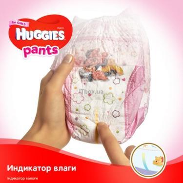 Подгузник Huggies Pants 3 для девочек (6-11кг) 116 шт (58x2) (5029054216408) - фото 6