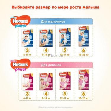 Подгузник Huggies Pants 3 для девочек (6-11кг) 116 шт (58x2) (5029054216408) - фото 9