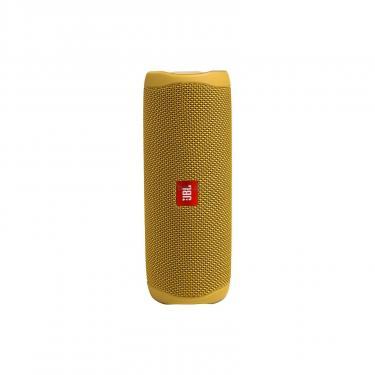 Акустическая система JBL Flip 5 Yellow (JBLFLIP5YEL) - фото 4