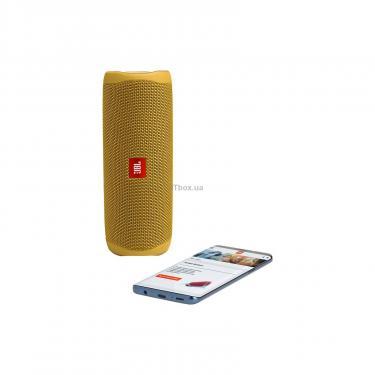 Акустическая система JBL Flip 5 Yellow (JBLFLIP5YEL) - фото 6