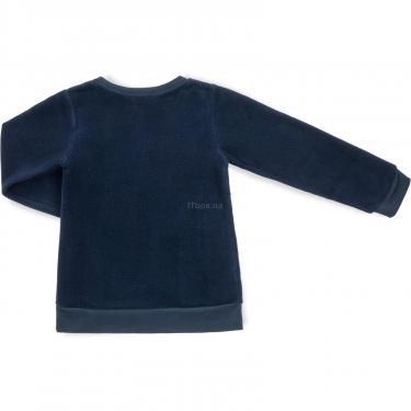 """Пижама Matilda флисовая """"FOOTBALL ACADEMY"""" (7536-3-128B-blue) - фото 5"""