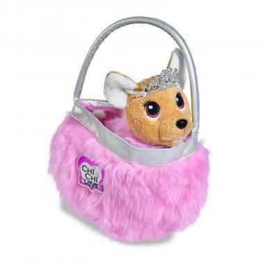 Мягкая игрушка Simba Chi Chi Love Чихуахуа Фэшн Принцесса красоты в мех Фото 1