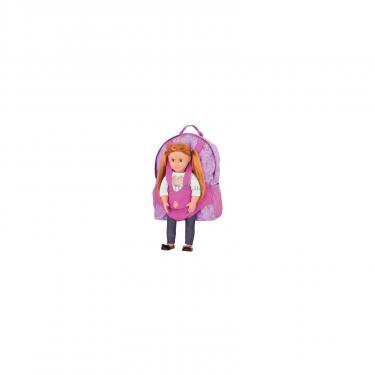 Аксессуар к кукле Our Generation рюкзак фиолетовый Фото 1
