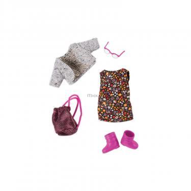Аксессуар к кукле Lori Набор одежды для кукол - Платье с цветами Фото