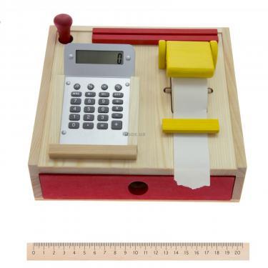 Игровой набор Nic Деревянный кассовый аппарат Фото 3