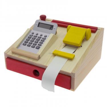 Игровой набор Nic Деревянный кассовый аппарат Фото