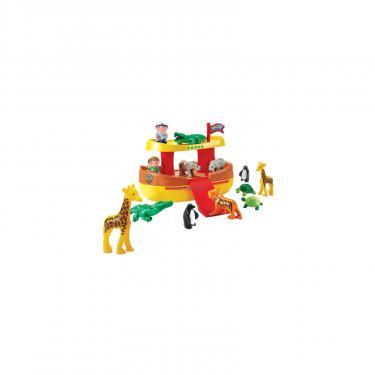 Игровой набор Ecoiffier Ноев ковчег, с 12 животными Фото