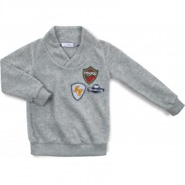 Пижама Matilda флисовая (9124-2-110B-gray) - фото 2