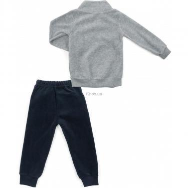 Пижама Matilda флисовая (9124-2-110B-gray) - фото 4