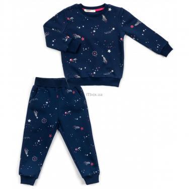 Пижама Breeze со звездами (15116-92-blue) - фото 1