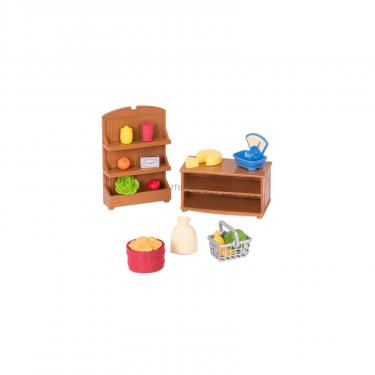 Игровой набор Li'l Woodzeez Продуктовые полочки Фото