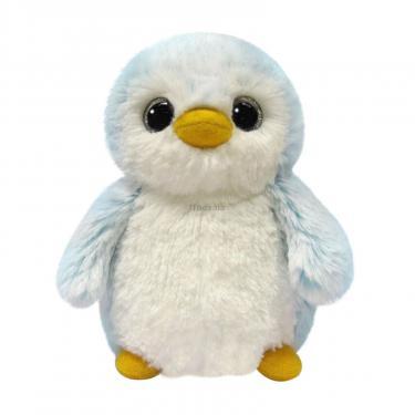 Мягкая игрушка Aurora Пингвин мальчик Пом Пом 15 см Фото