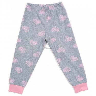Пижама Matilda с сердечками (12101-3-152G-pink) - фото 3