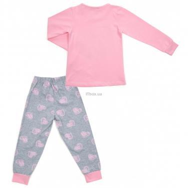Пижама Matilda с сердечками (12101-3-152G-pink) - фото 4