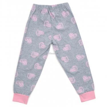 Пижама Matilda с сердечками (12101-3-152G-pink) - фото 6