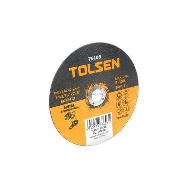 Круг отрезной Tolsen по металлу/нержавейке 125х1.2*22.2мм Фото