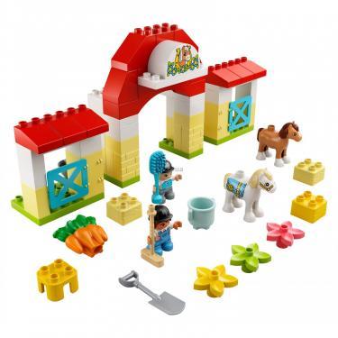 Конструктор LEGO Duplo Стайня і догляд за поні (10951) - фото 2
