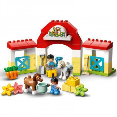 Конструктор LEGO Duplo Стайня і догляд за поні (10951) - фото 4