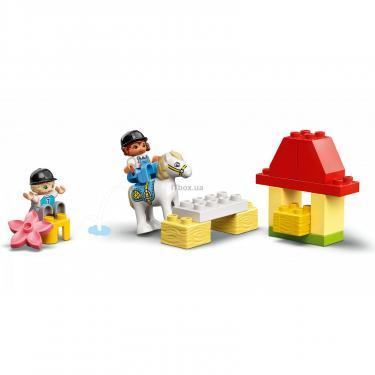 Конструктор LEGO Duplo Стайня і догляд за поні (10951) - фото 5