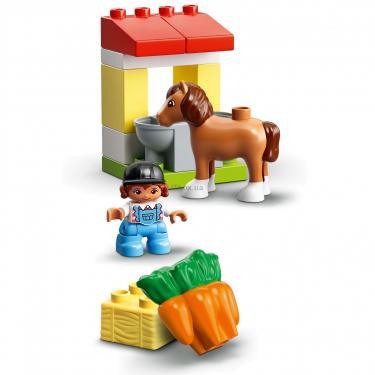 Конструктор LEGO Duplo Стайня і догляд за поні (10951) - фото 6