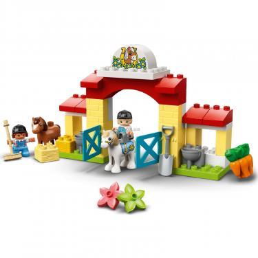 Конструктор LEGO Duplo Стайня і догляд за поні (10951) - фото 7