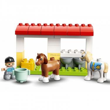 Конструктор LEGO Duplo Стайня і догляд за поні (10951) - фото 8
