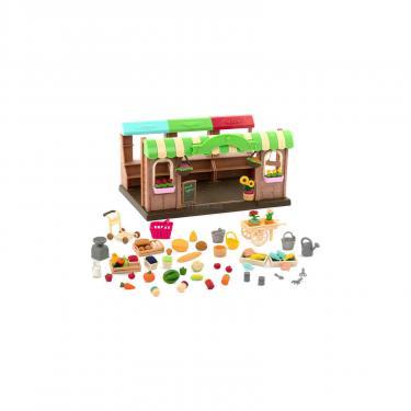 Игровой набор Li'l Woodzeez Фермерский рынок Фото 1
