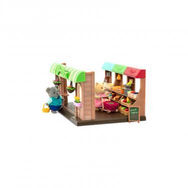 Игровой набор Li'l Woodzeez Фермерский рынок Фото 3