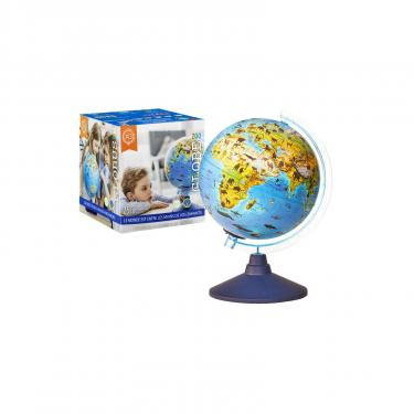 Интерактивная игрушка Alaysky's Globe Глобус зоо-географический с LED подсветкой, Д25см Фото 2