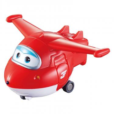 Игровой набор Super Wings Transform-a-bots, 4 фигурки-трансформеры, Джетт, П Фото 5