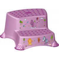 Подставка OKT двойная Hippo лиловый (9937)