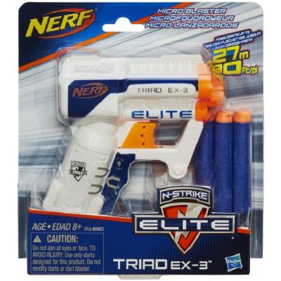 Игрушечное оружие Hasbro Бластер Элит Триад (A1690E35)