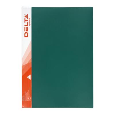 Папка с файлами Delta by Axent 30 sheet protectors А4, green (D1530-05)