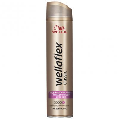Лак для волос WellaFlex Classiс Суперсильная фиксация 250 мл (4084500378872)