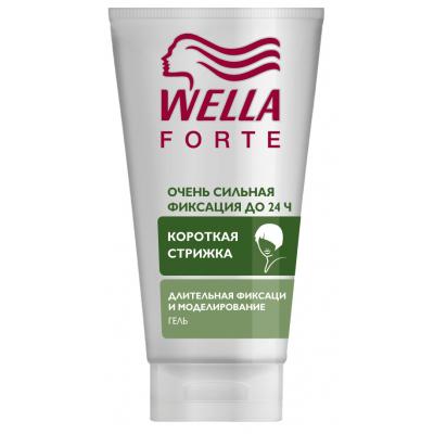 Гель для волос WellaForte для коротких волос Супер сильная фиксация 150 мл (4056800910267)