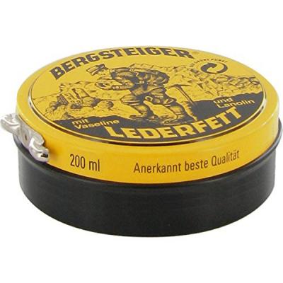 Средство для пропитки HEY-sport Bergsteiger-Lederfett farblos 100 ml для обуви (20880100)