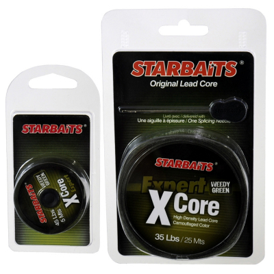 Поводковый материал Starbaits X-CORE Weedy Green 35LB, 25м (32.23.92)