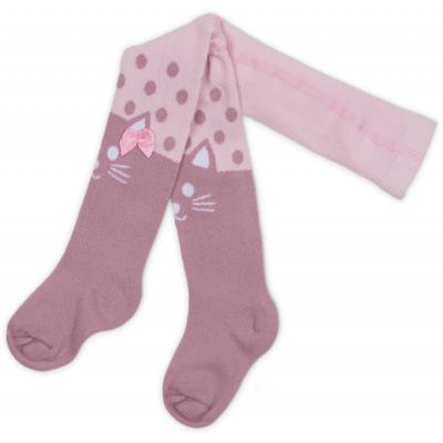 Колготки UCS SOCKS для девочек праздничные с бантиком розовые (M0C0302-0899-0-3m/G-pink)