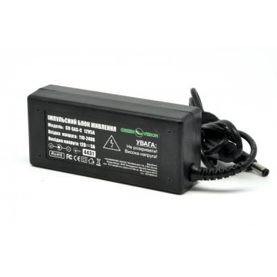 Блок питания GreenVision GV-SAS-C 12V5A (60W) (4431)