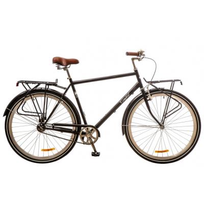 """Велосипед Дорожник 28"""" COMFORT MALE 14G Velosteel St черный (OPS-D-28-091)"""